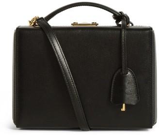 Mark Cross Small Leather Grace Box Bag