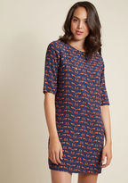 Sugarhill Boutique Pull Out All the Fox Shift Dress in 8 (UK)