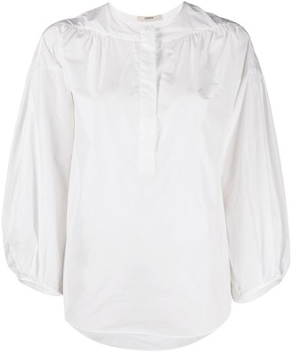 Odeeh Puff-Sleeve Blouse