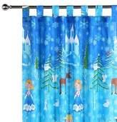 NEW Happy Kids Snow Princess Glow in the Dark Curtain