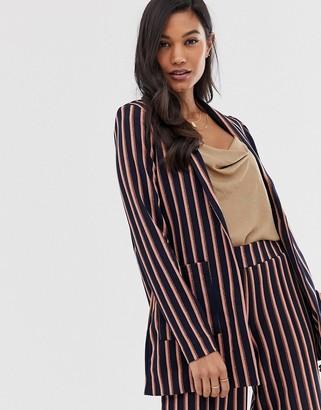 Ichi stripe blazer-Multi