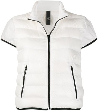 Hogan Padded Short-Sleeved Jacket
