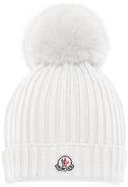 Moncler Girls' Berretto Foldover Hat - Sizes S-L