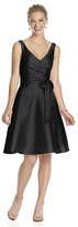 Alfred Sung D624 Bridesmaid Dress in Black