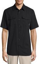 Columbia Short Sleeve Button-Front Shirt