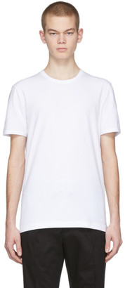 Dolce & Gabbana White Stretch Cotton T-Shirt