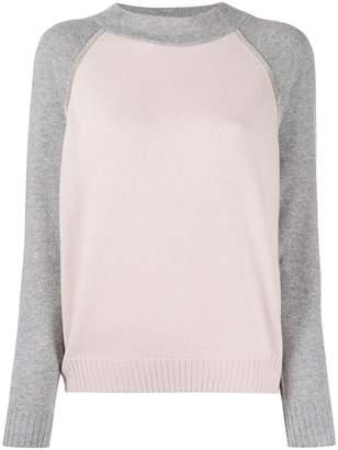 D-Exterior D.Exterior two-tone sweater