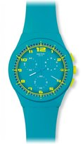 Swatch Women's Originals SUSL400 Rubber Quartz Watch
