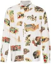 Wacko Maria Japan print Hawaiian shirt