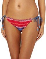 Seafolly Havana Stripe Tieside Hipster Bikini Bottoms
