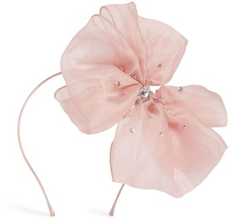 Tutu Du Monde Crystal Bow Flower Hairband