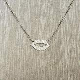 Rocks With Soul Diamond Lips Necklace
