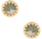 House Of Harlow Sunburst Button Earring