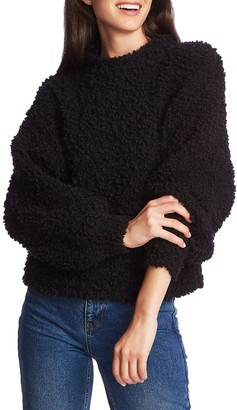 1 STATE Poodle Texture Pullover