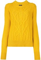 Isabel Marant 'Gabao' cable knit jumper
