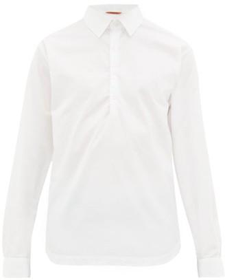 Barena Venezia - Pavan Half Button Cotton Shirt - Mens - White