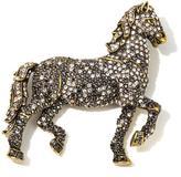 "Heidi Daus Dapple Delight"" Crystal-Accented Horse Pin"