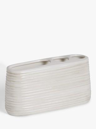 John Lewis & Partners Ceramic Toothbrush Holder