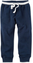 Carter's Navy Knit Joggers, Toddler Boys (2T-4T)