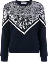 MSGM sequin embellished sweatshirt