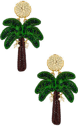 Mercedes Salazar Palm Tree Earring
