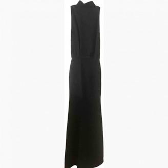 Victoria Beckham Black Silk Dresses