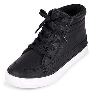 Children's Place The Boys' Mid Top Sneaker