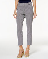 Charter Club Petite Newport Printed Cropped Pants, Only at Macy's