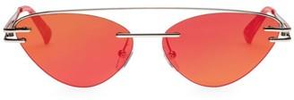 Cat Eye 57MM The Coupe Cateye Sunglasses