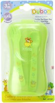 Bebe Dubon Fork and Spoon with Travel Case, Colors May Vary