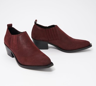 Fly London Leather Booties - Ivon