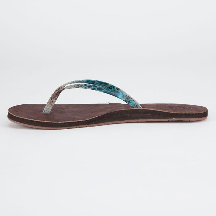 Reef Leather Uptown Luxe Womens Sandals