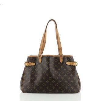Louis Vuitton Batignolles Handbag Monogram Canvas Horizontal