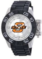 Game Time Beast Series Oklahoma State Cowboys Stainless Steel Watch - COL-BEA-OKS - Men