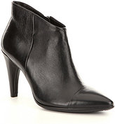 Ecco Shape 75 Leather Pointed-Toe Low Cut Booties