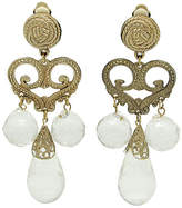 One Kings Lane Vintage Chandelier-Style Earrings