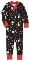 Hanna Andersson Peanuts ® Organic Cotton Fitted One-Piece Pajamas (Baby)