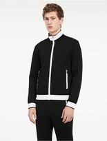 Calvin Klein Platinum Contrast Zip Jacket