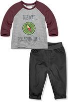 Mulberry 'Adventure' Raglan Tee & Pants - Infant & Toddler