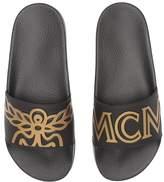 MCM Logo Rubber Slide Sandal Men's Slide Shoes