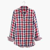 Madewell Ex-Boyfriend Shirt in Emmett Plaid