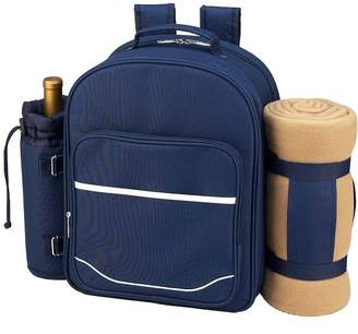 Pottery Barn Everly Picnic Backpack, Set for 4