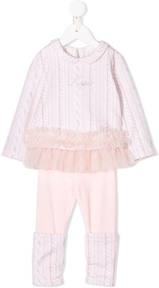 Lapin House Knitted Two-Piece Set