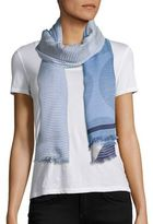 Stella McCartney Shirting Modal & Silk Scarf