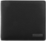 HUGO Element 8 Leather Wallet Brown