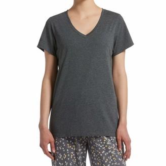 Hue Sleepwear Women's Short Sleeve V-Neck Sleep Tee