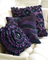 Ruffled Purple Pillows