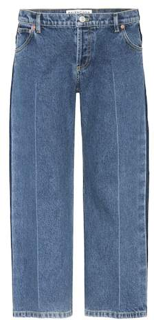 Balenciaga Rockabilly cropped jeans