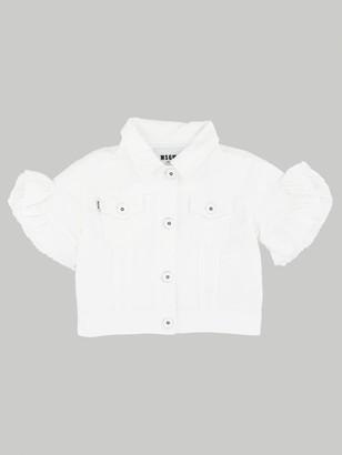 MSGM Kids Denim Jacket