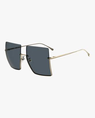 Fendi Oversized Frameless Sunglasses